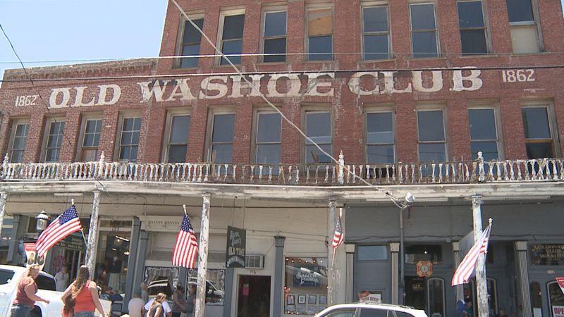 Located on C Street in Virginia City, the Washoe Club has been serving drinks since 1862.