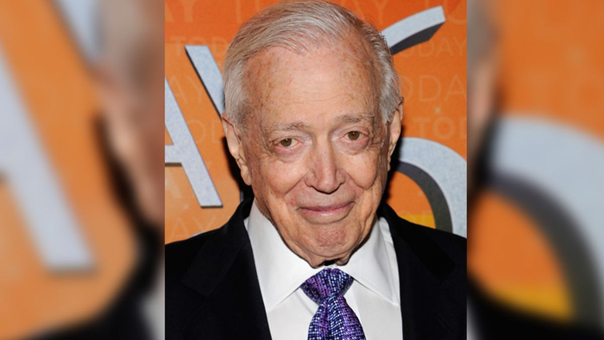 """Hugh Downs attends the """"Today"""" show 60th anniversary celebration at the Edison Ballroom on Thursday, Jan. 12, 2012 in New York."""