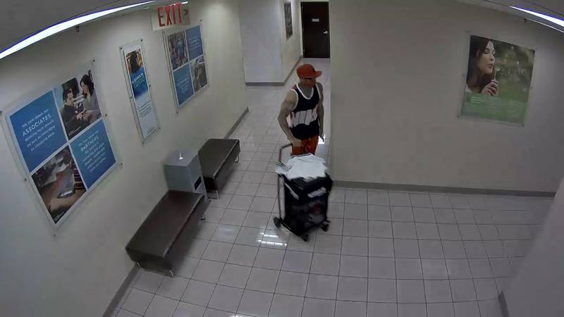 Carson City Sheriffs Deputies are looking for this man in connection with a theft from Kohl's.