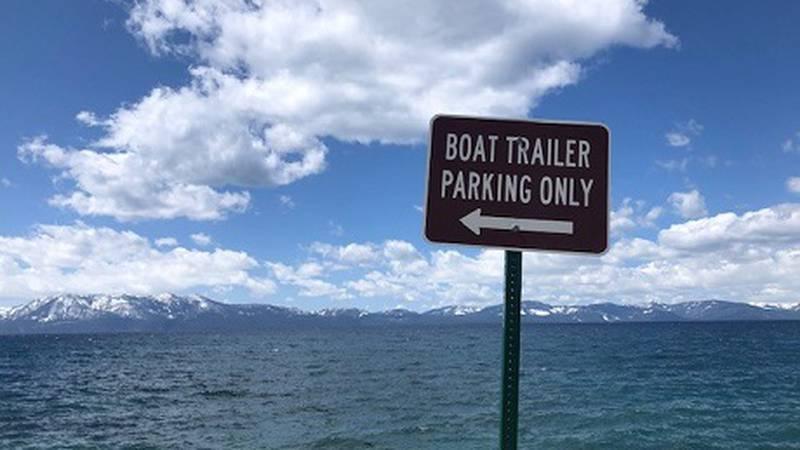 Cave Rock boat launch Lake Tahoe