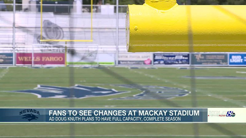 Fans to see changes at Mackay Stadium this spring, fall