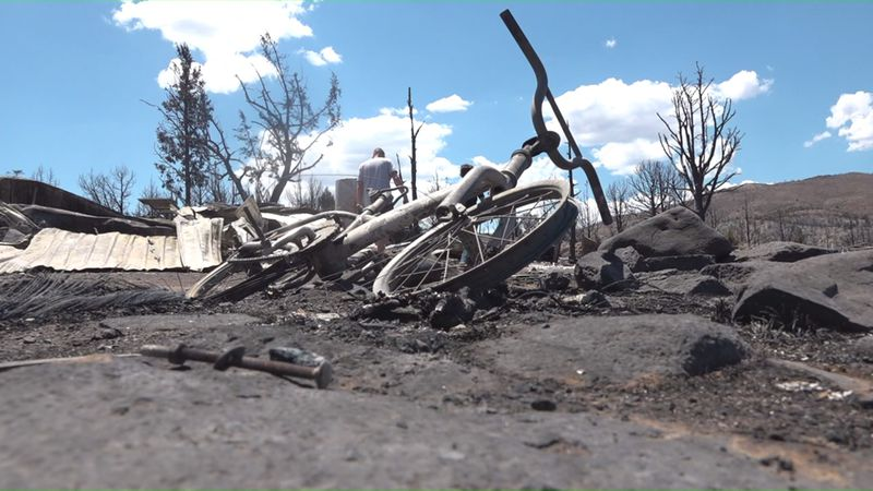 Families affected by the Numbers Fire in Douglas County trying to move forward with what they...