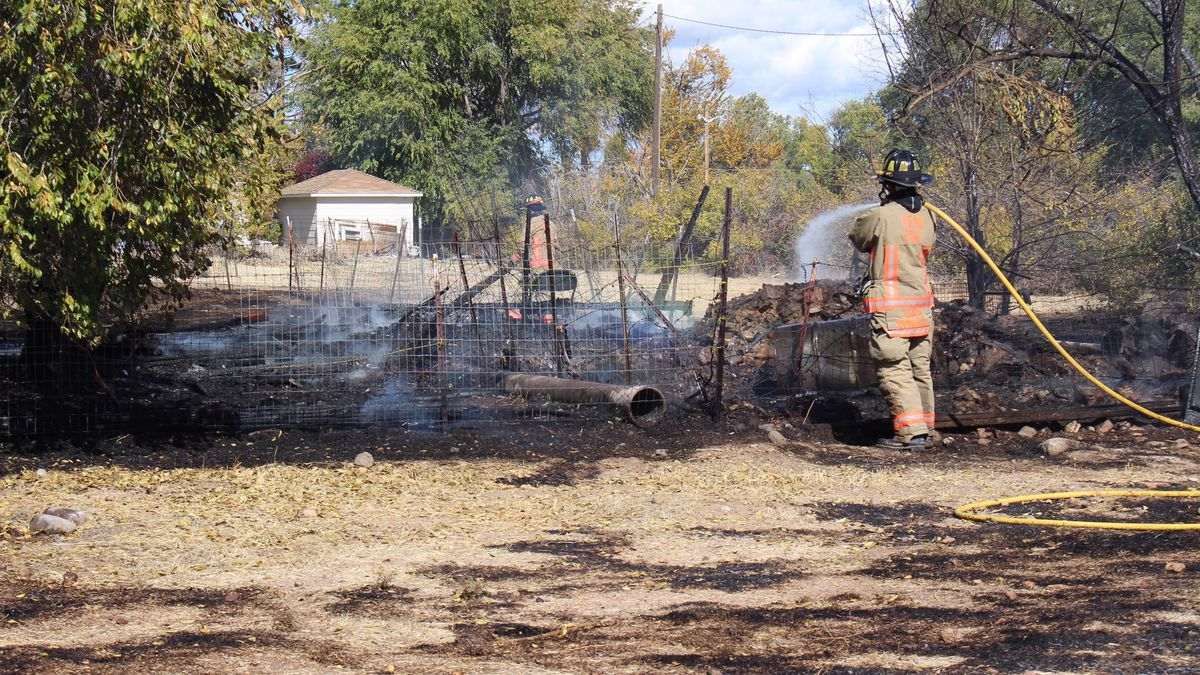 Crews with the Reno Fire Department extinguished a structure fire Thursday afternoon. Photo...