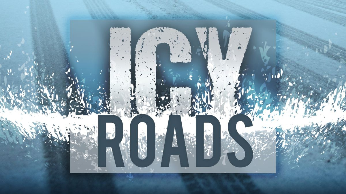 Icy Roads graphic