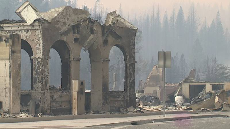 The Dixie Fire destroys much of Greenville, Calif.