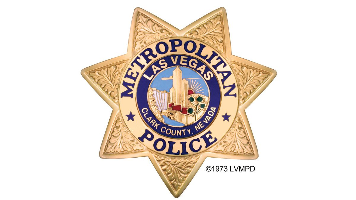 Las Vegas Metropolitan Police Department logo.