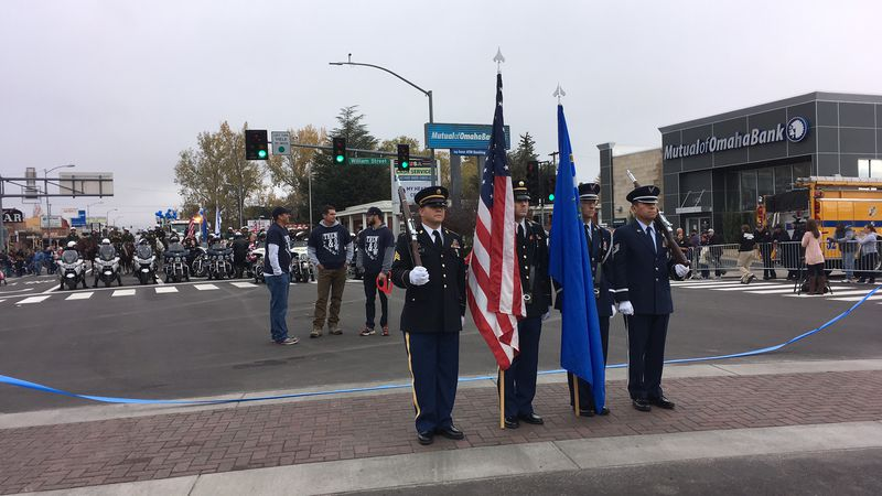 The Nevada Day Parade in Carson City.