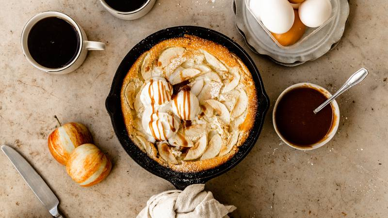 The perfect dish to make after any visit to the apple orchard.