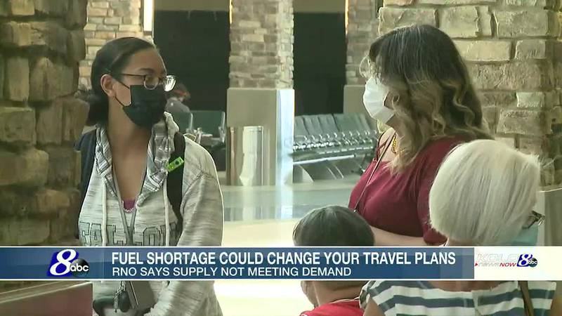 Fuel shortage could affect travel plans at RNO