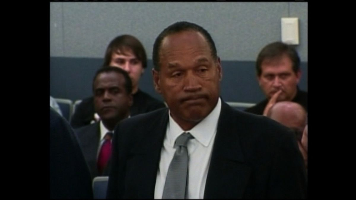 Disgraced football legend O.J. Simpson. CNN photograph.