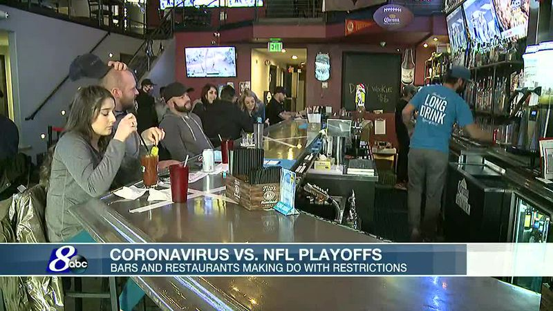 Bars, restaurants, breweries adapting to COVID guidelines during NFL Playoffs