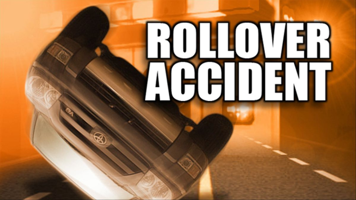 Rollover accident graphic by MGN
